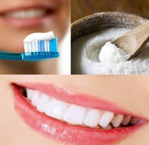 Các nguyên liệu làm trắng răng tại nhà